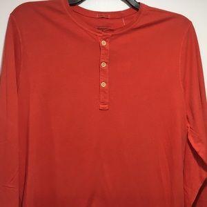 Abercrombie & Fitch Henley LS T-shirt Size XL